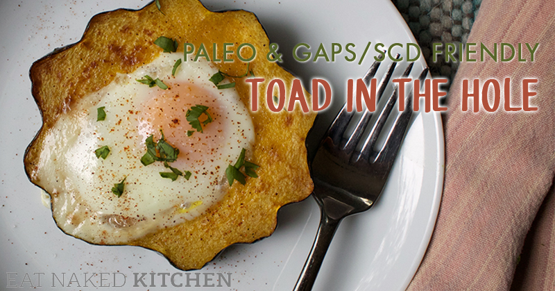 Toad in a Hole – Paleo, GAPS & SCD friendly